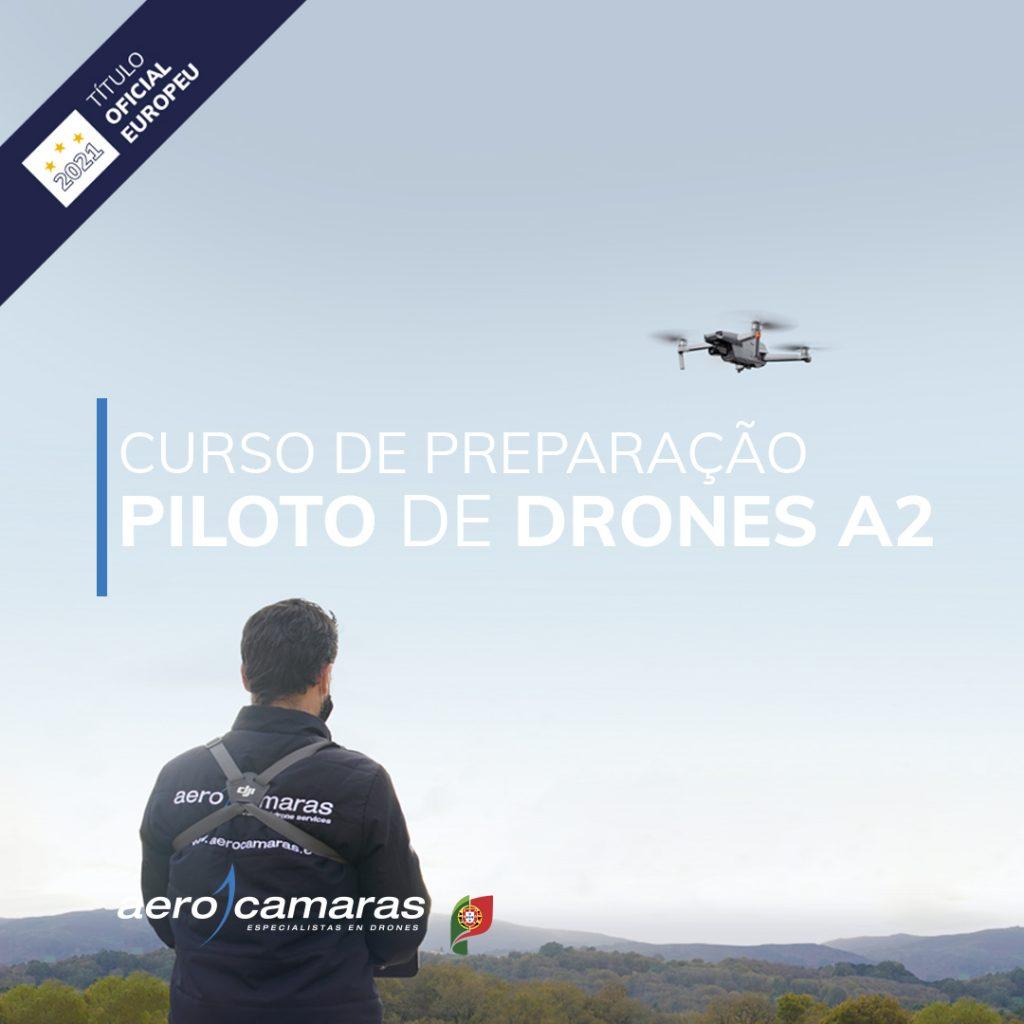 curso de preparação piloto de drones A2